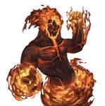 Fire Elemental_DVG - Warfighter Fantasy