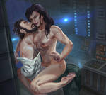 Sweet talk of Sylvia and Karch NSFW by Huy137