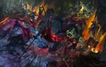 Black Bastion Battle by Huy137