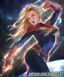 Captain Marvel by Huy137