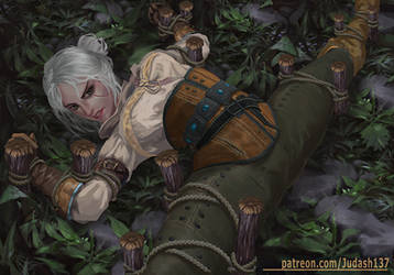 Ciri(Witcher 3)Trapped by Huy137