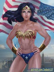 Classic Wonder Woman bikini by Huy137