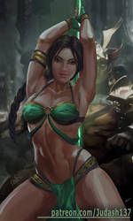 Jade Mortal Kombat by Huy137