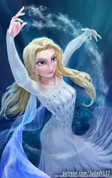 Elsa Fanart by Huy137