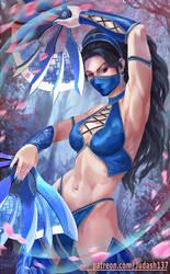 Kitana (Mortal Kombat) by Huy137