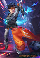 Tracer Overwatch 2 by Huy137