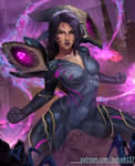 Kaisa (League of Legends) by Huy137