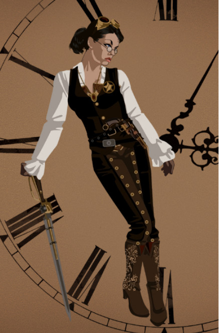 My Steampunk Concept Outfit by DraftHorseTrainer on DeviantArt
