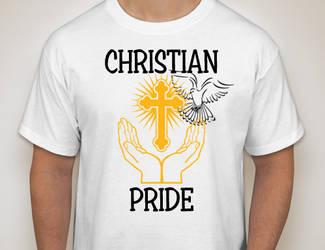 Christian Pride Tee Shirt Design