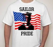 Sailor Tribute Shirt Design