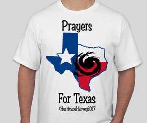 Prayers for Texas Shirt Design