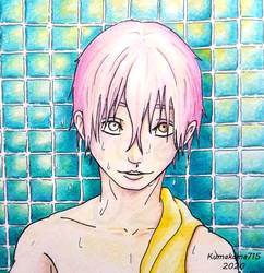 Pink Haired Boy 2