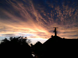 Sundown in my town