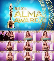 Jessica Alba on ALMA awards