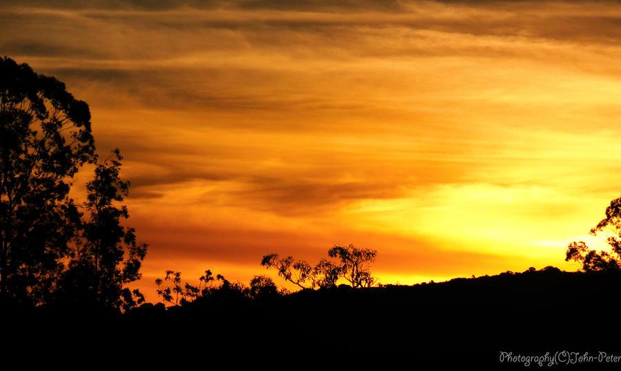 Mountain Sunset by John-Peter
