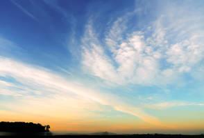 Morning Skies I by John-Peter