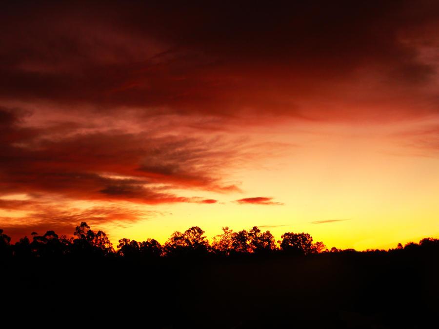 Sunset Skies VII by John-Peter