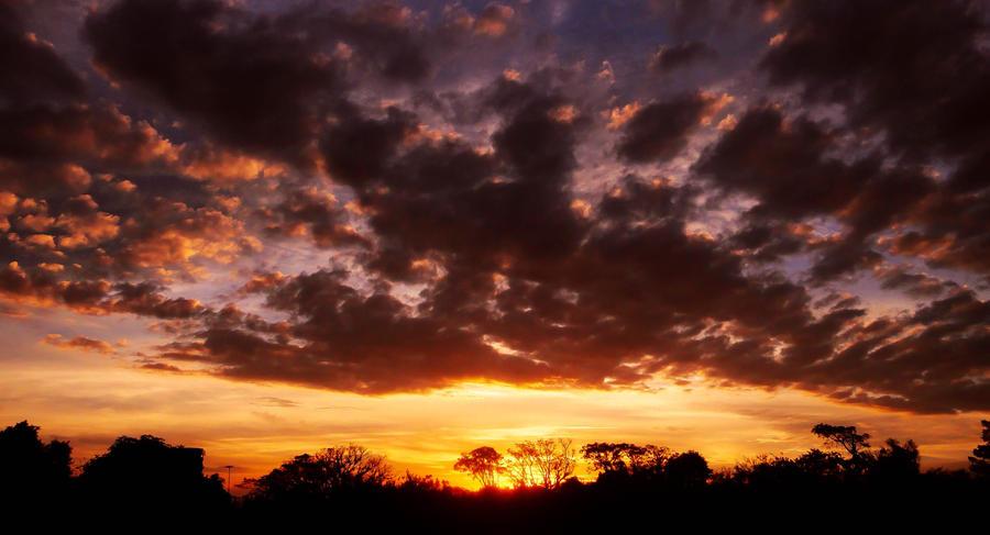 Sunset Skies XI by John-Peter