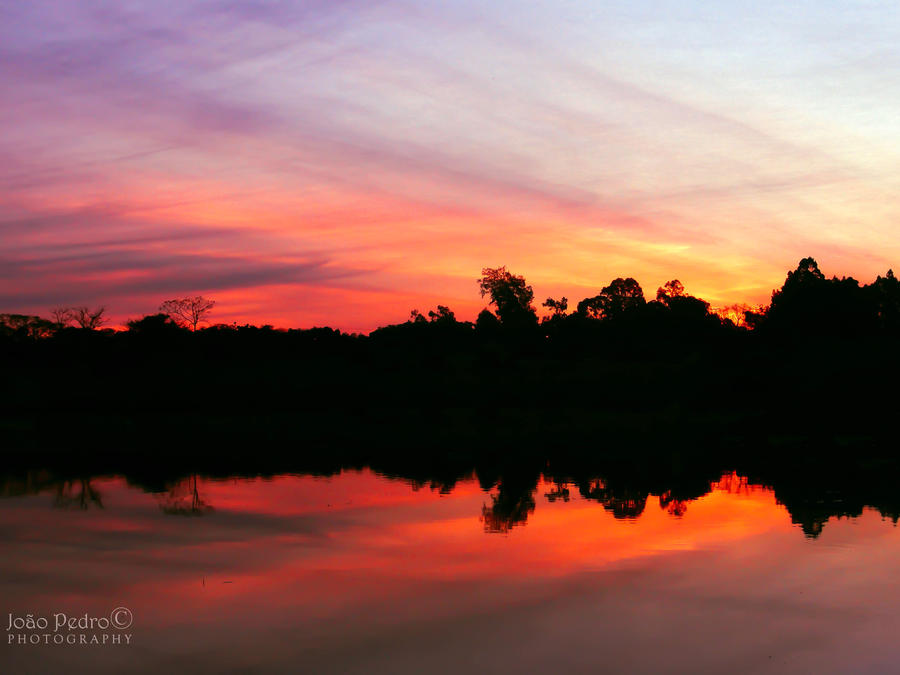 Burning Reflections by John-Peter