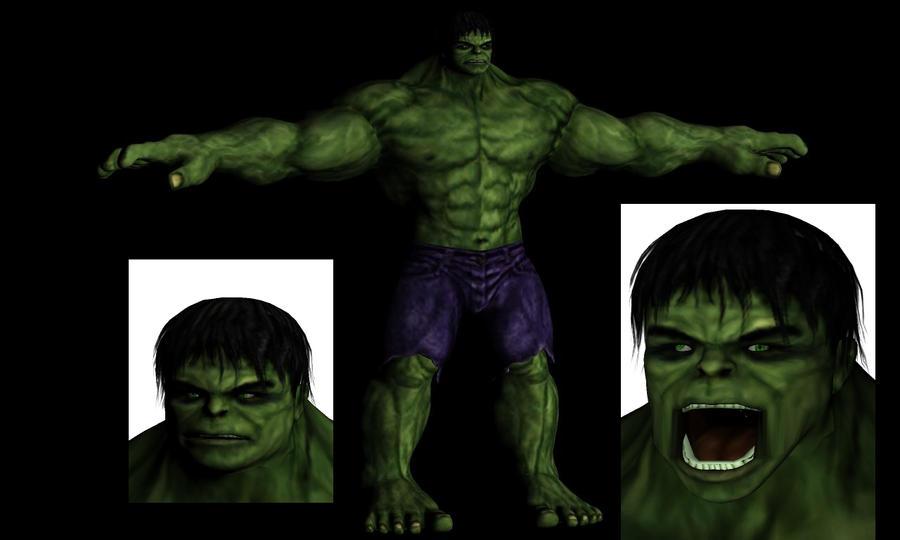 Hulk model Movie game by sidneymadmax