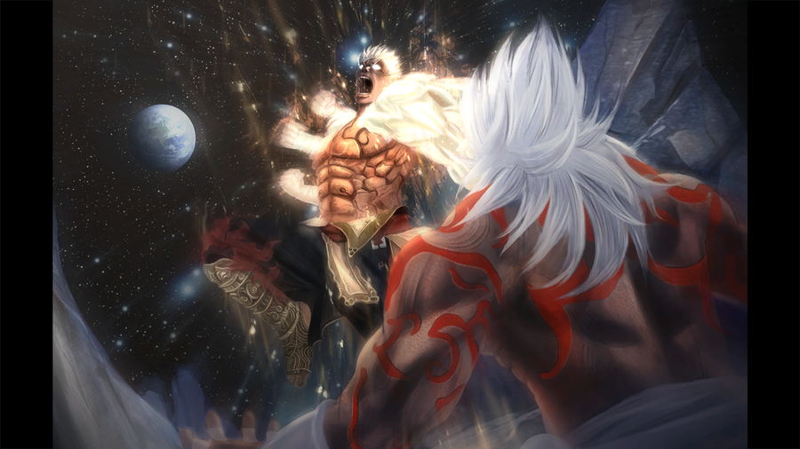 Asura vs Augus by sidneymadmax