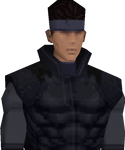 Solid Snake MGS PSX
