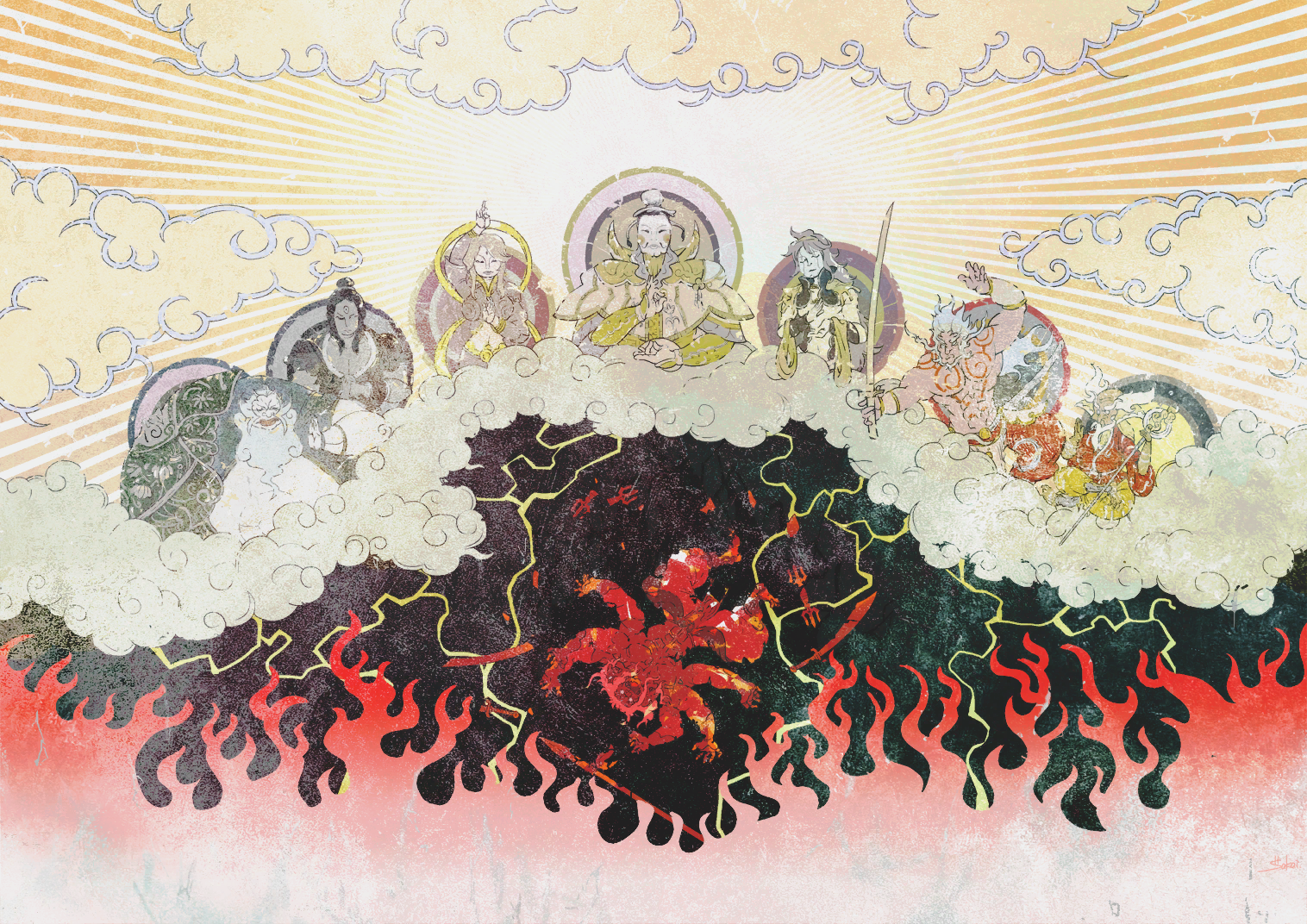 Asura's Wrath Interval Drama 1 by sidneymadmax