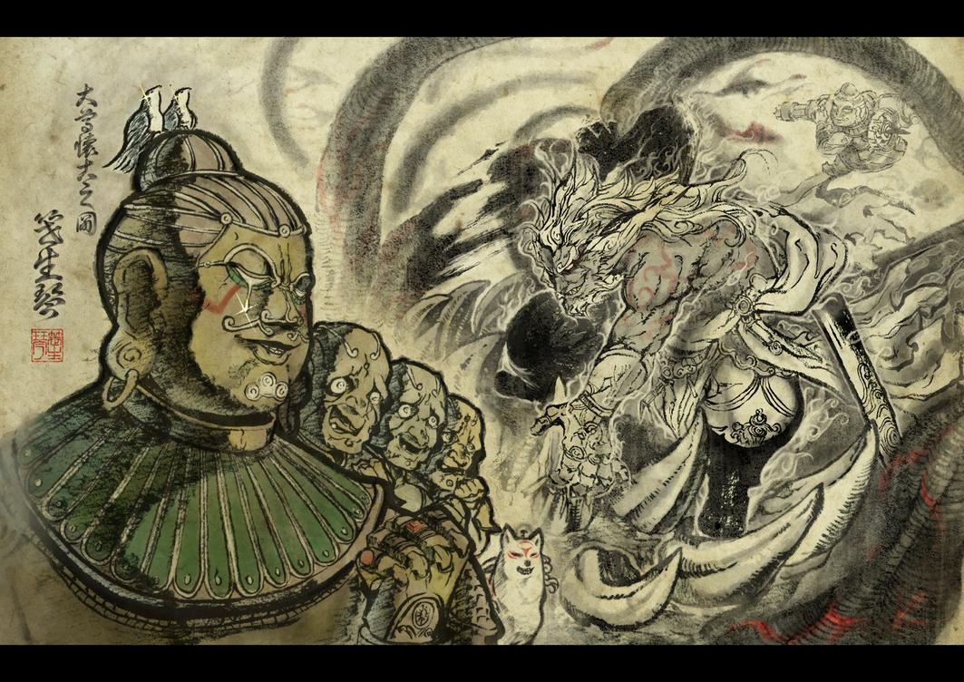 Asura's Wrath Interval Drama 3 by sidneymadmax