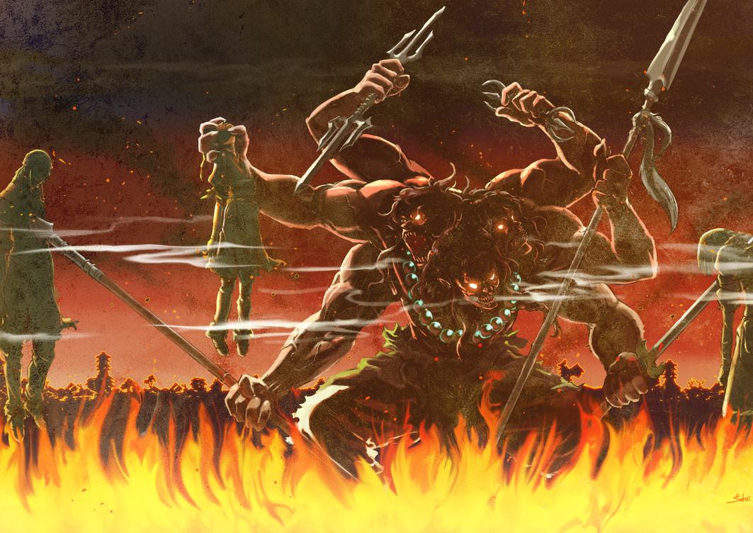 Asura's Wrath Interval Drama 6 by sidneymadmax