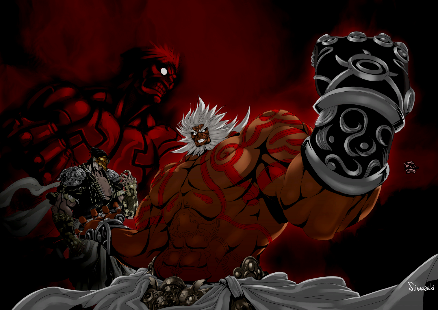 Asura's Wrath Interval Drama 19 by sidneymadmax