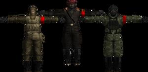 Metal Gear 3 Soldiers