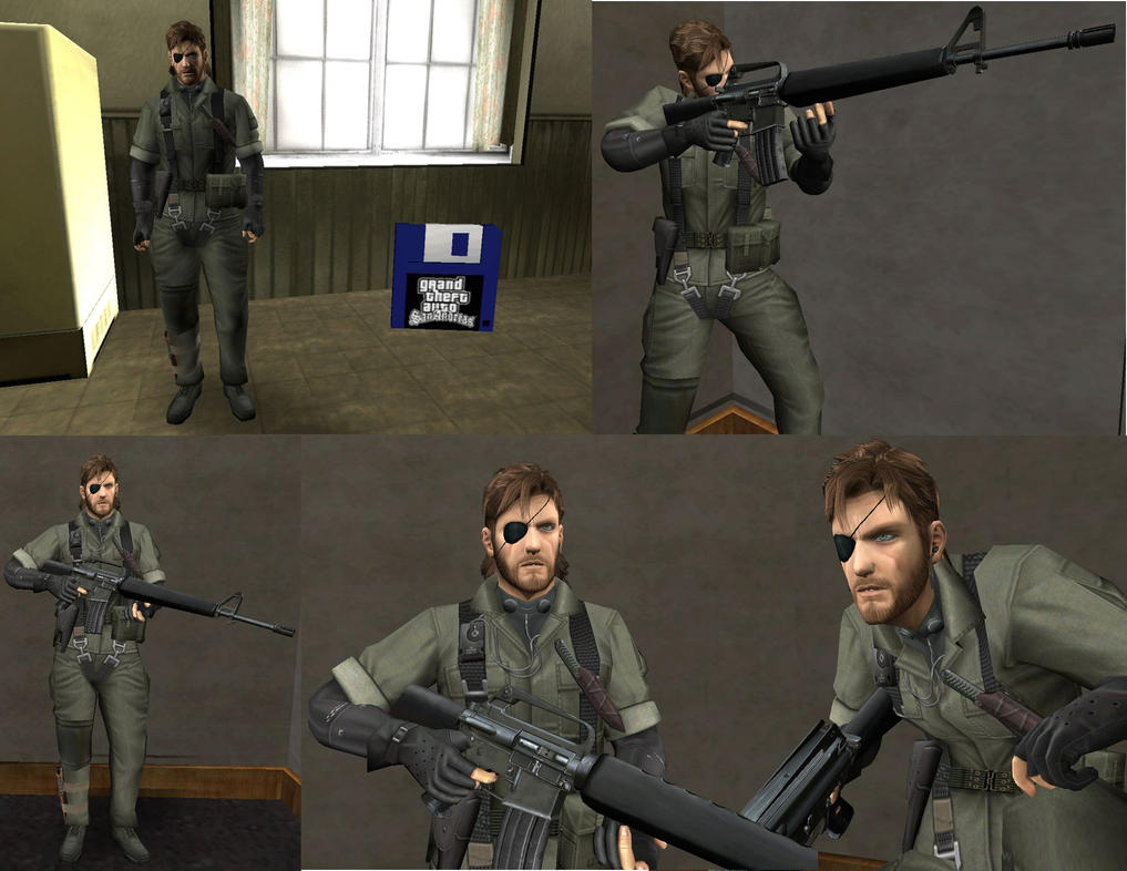 Big Boss Naked Snake Gta Sa by sidneymadmax
