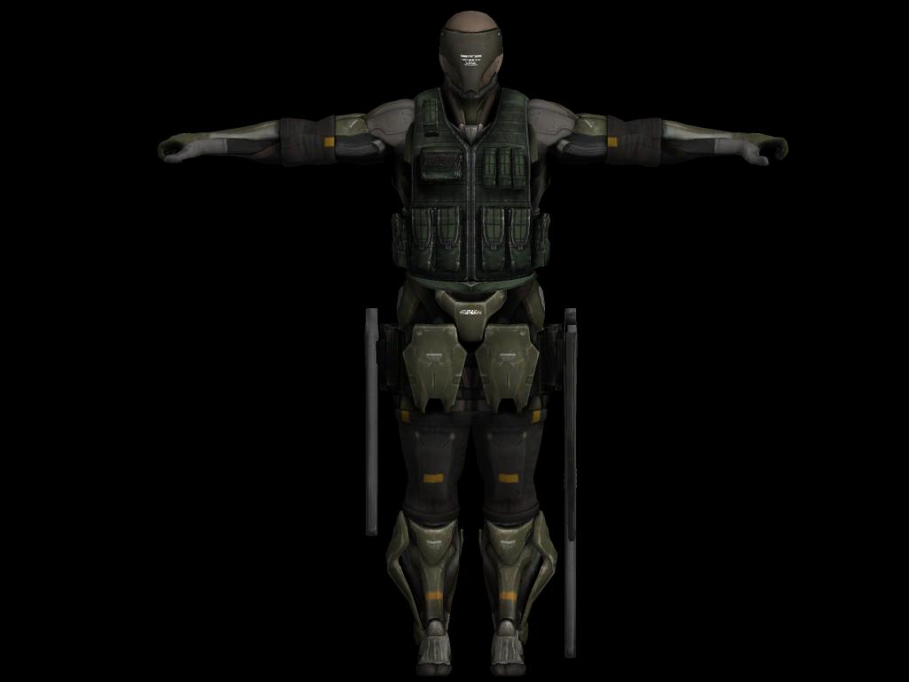 Metal Gear Rising Revengeance Cyborg by sidneymadmax