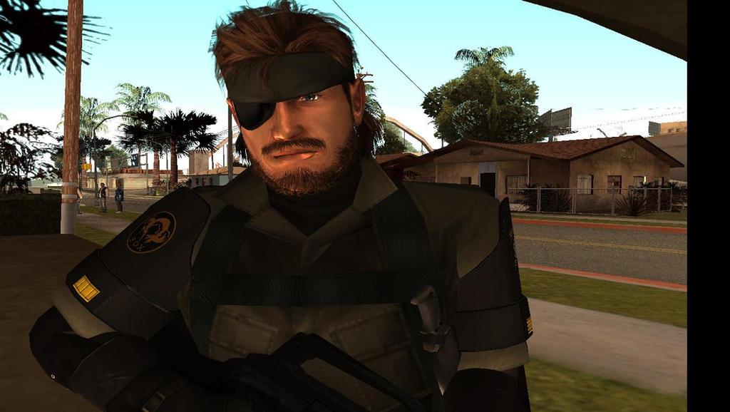 Metal Gear Solid PW BIG BOSS PW HD GTA SA by sidneymadmax
