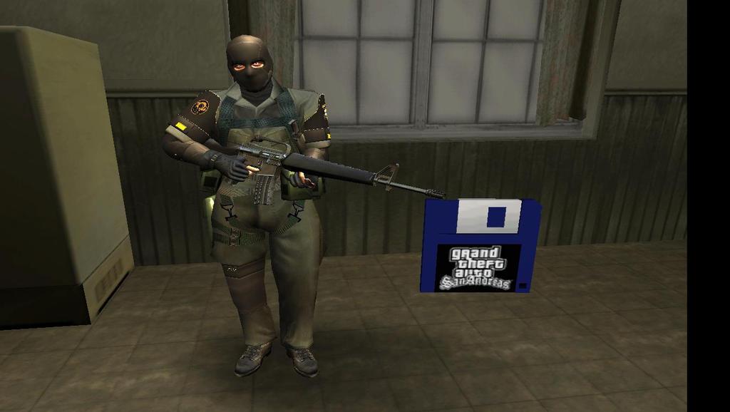 Metal Gear Solid PW SOLDIER PW HD GTA SA by sidneymadmax