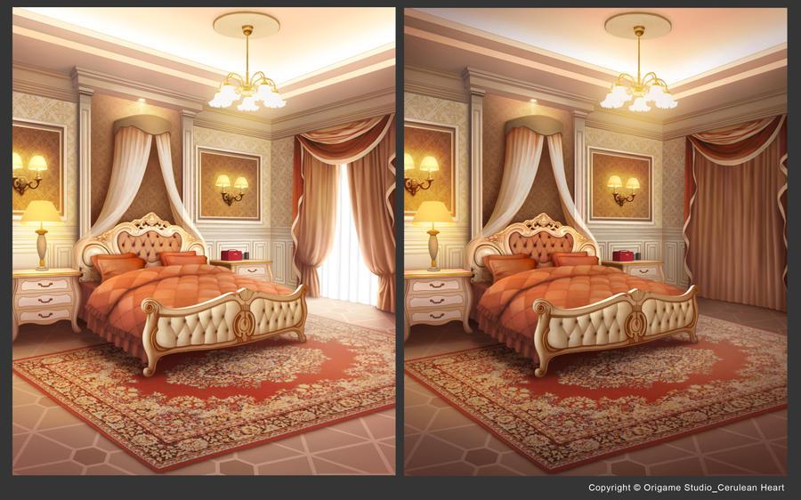 Victorian Bedroom by CiCiY