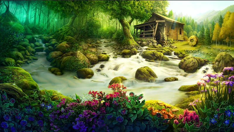 RiverBank by CiCiY