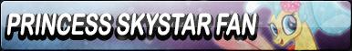 MLP The Movie - Princess SkyStar Fan Button