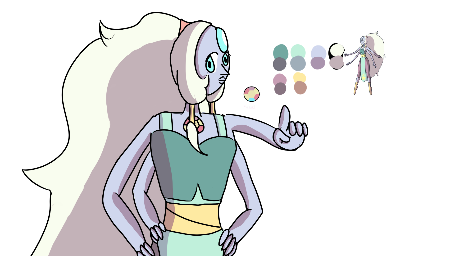 Steven Universe Opal | www.imgkid.com - The Image Kid Has It!