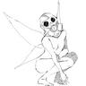 Gasmask Fairy by nuu