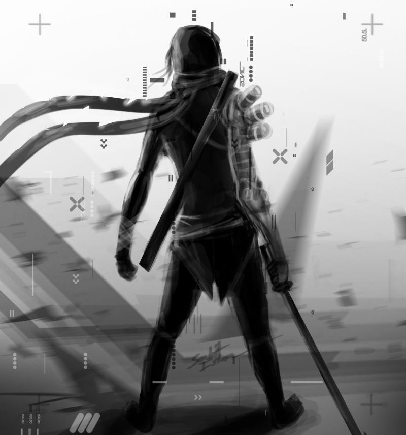 Sci Fi ninja cyborg CONCEPT by skyracer46 on DeviantArt