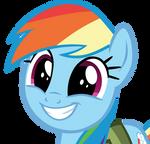 Cute Rainbow Dash Face