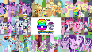 8th Anniversary Friendship is Magic