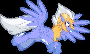 Mlp Fim Sky Beak (Happy) Vector