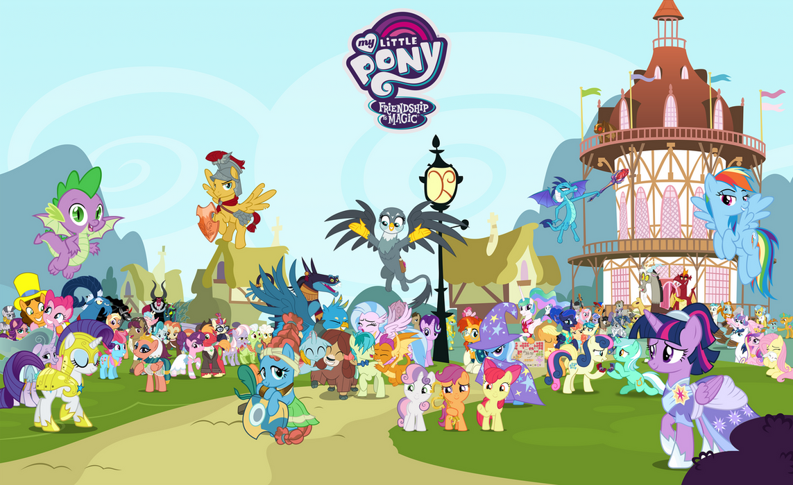 Mlp Fim Season 9 Characters Wallpaper By Hendro107 On Deviantart