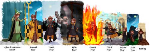 .:Finished:. Hogwarts AU