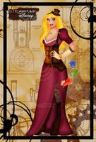 Steampunk Aurora by HelleeTitch