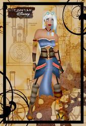 Steampunk Kida by HelleeTitch