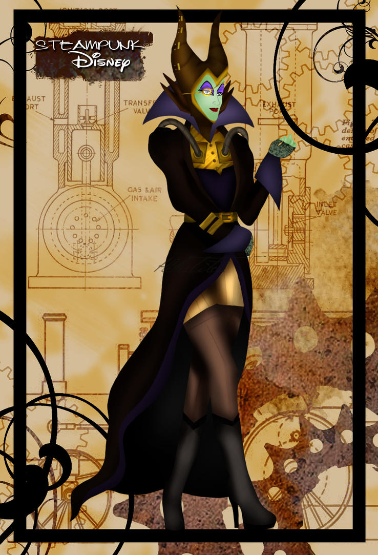 L'image qui roxe du saucisson Steampunk_maleficent_by_helleetitch-d3jduaa