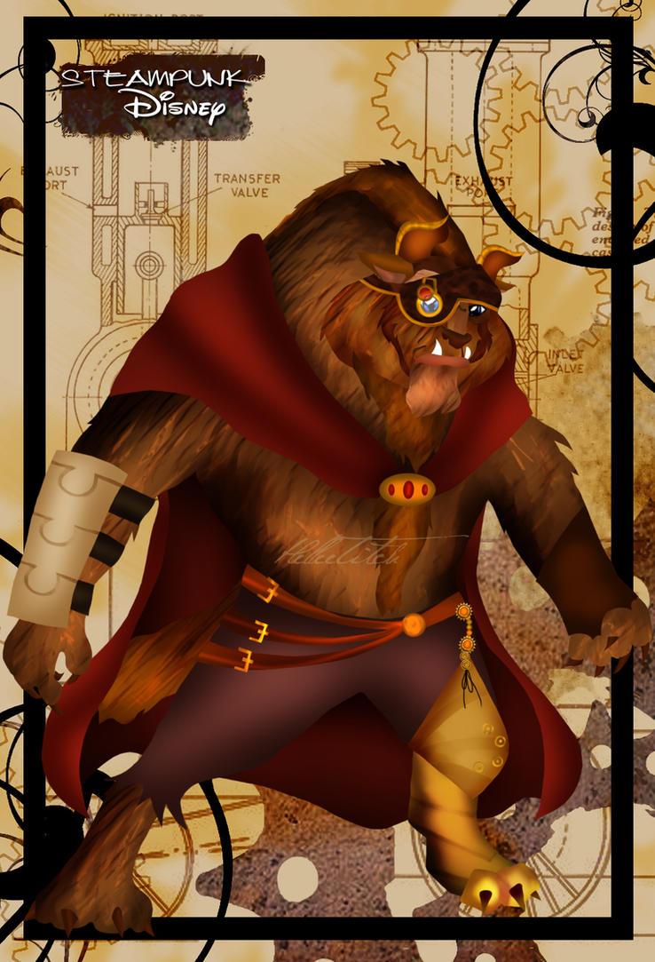 Steampunk Beast by HelleeTitch